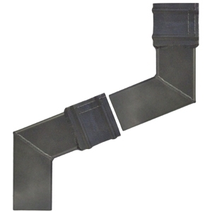 Square Cast Collar Aluminium Downpipe