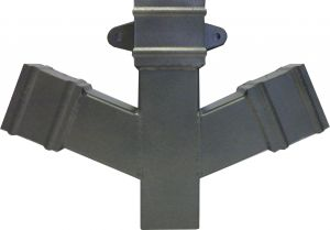 Cast Collar Square Double Branch