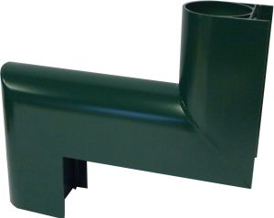 Round security pipe 1 part offset