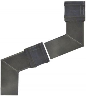 cast collar 2 part offset square